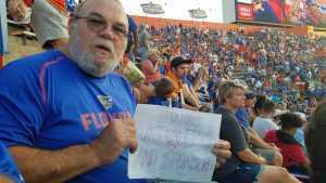 howard attended University of Florida Gators Football vs. University of Tennessee-martin - NCAA Football on Sep 7th 2019 via VetTix