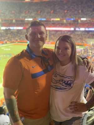 Justin attended University of Florida Gators Football vs. University of Tennessee-martin - NCAA Football on Sep 7th 2019 via VetTix