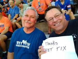 Steven attended University of Florida Gators Football vs. University of Tennessee-martin - NCAA Football on Sep 7th 2019 via VetTix