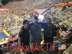 Travis attended University of Florida Gators Football vs. University of Tennessee-martin - NCAA Football on Sep 7th 2019 via VetTix