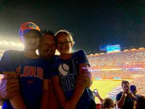 James attended University of Florida Gators Football vs. University of Tennessee-martin - NCAA Football on Sep 7th 2019 via VetTix