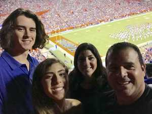 The Delgado's attended University of Florida Gators Football vs. University of Tennessee-martin - NCAA Football on Sep 7th 2019 via VetTix