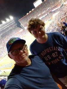 Christofer attended University of Florida Gators Football vs. University of Tennessee-martin - NCAA Football on Sep 7th 2019 via VetTix
