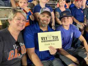 Christopher attended University of Florida Gators Football vs. University of Tennessee-martin - NCAA Football on Sep 7th 2019 via VetTix