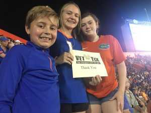 Philip attended University of Florida Gators Football vs. University of Tennessee-martin - NCAA Football on Sep 7th 2019 via VetTix
