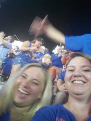 Lena attended University of Florida Gators Football vs. University of Tennessee-martin - NCAA Football on Sep 7th 2019 via VetTix