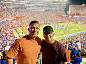 Bryant attended University of Florida Gators Football vs. University of Tennessee-martin - NCAA Football on Sep 7th 2019 via VetTix
