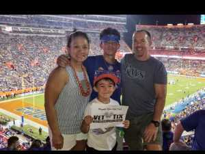 Anthony attended University of Florida Gators Football vs. University of Tennessee-martin - NCAA Football on Sep 7th 2019 via VetTix