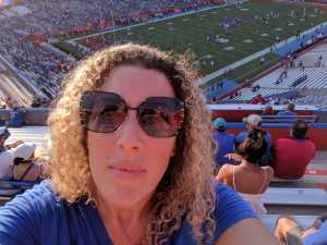 Dawn attended University of Florida Gators Football vs. University of Tennessee-martin - NCAA Football on Sep 7th 2019 via VetTix