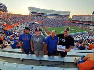 Landmine attended University of Florida Gators Football vs. University of Tennessee-martin - NCAA Football on Sep 7th 2019 via VetTix