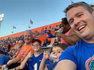 Donald attended University of Florida Gators Football vs. University of Tennessee-martin - NCAA Football on Sep 7th 2019 via VetTix