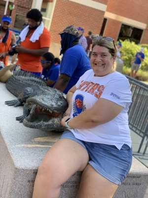 Tanya attended University of Florida Gators Football vs. University of Tennessee-martin - NCAA Football on Sep 7th 2019 via VetTix
