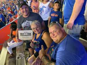 Robert attended University of Florida Gators Football vs. University of Tennessee-martin - NCAA Football on Sep 7th 2019 via VetTix