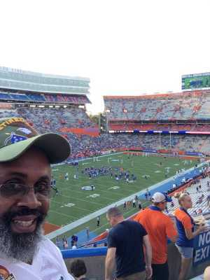 Vaughn attended University of Florida Gators Football vs. University of Tennessee-martin - NCAA Football on Sep 7th 2019 via VetTix