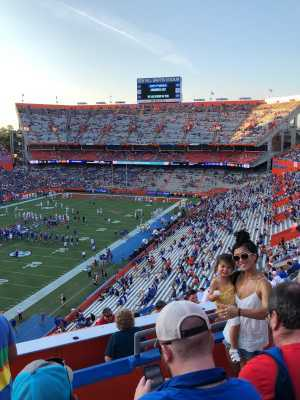 Michael attended University of Florida Gators Football vs. University of Tennessee-martin - NCAA Football on Sep 7th 2019 via VetTix
