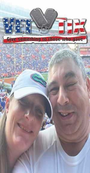 Frederick attended University of Florida Gators Football vs. University of Tennessee-martin - NCAA Football on Sep 7th 2019 via VetTix