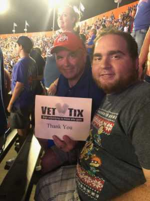 Jerri attended University of Florida Gators Football vs. University of Tennessee-martin - NCAA Football on Sep 7th 2019 via VetTix