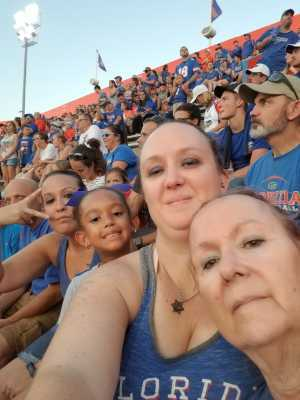 Sarah attended University of Florida Gators Football vs. University of Tennessee-martin - NCAA Football on Sep 7th 2019 via VetTix