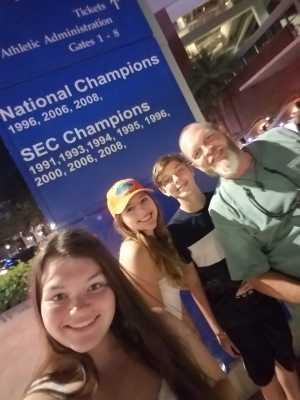 Steve attended University of Florida Gators Football vs. University of Tennessee-martin - NCAA Football on Sep 7th 2019 via VetTix