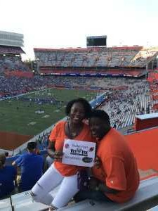 Verdell attended University of Florida Gators Football vs. University of Tennessee-martin - NCAA Football on Sep 7th 2019 via VetTix