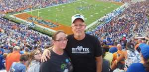 Harold attended University of Florida Gators Football vs. University of Tennessee-martin - NCAA Football on Sep 7th 2019 via VetTix