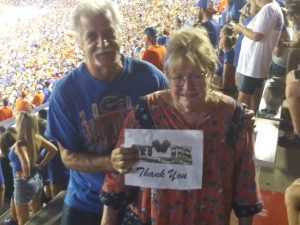 Frank attended University of Florida Gators Football vs. University of Tennessee-martin - NCAA Football on Sep 7th 2019 via VetTix