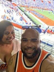 Christy attended University of Florida Gators Football vs. University of Tennessee-martin - NCAA Football on Sep 7th 2019 via VetTix