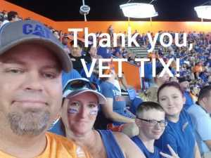 Charles attended University of Florida Gators Football vs. University of Tennessee-martin - NCAA Football on Sep 7th 2019 via VetTix