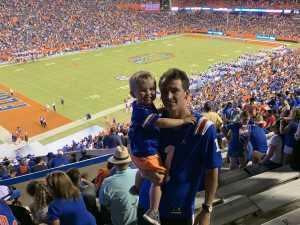 Austin attended University of Florida Gators Football vs. University of Tennessee-martin - NCAA Football on Sep 7th 2019 via VetTix