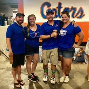 Joshua attended University of Florida Gators Football vs. University of Tennessee-martin - NCAA Football on Sep 7th 2019 via VetTix