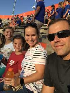 Daniel attended University of Florida Gators Football vs. University of Tennessee-martin - NCAA Football on Sep 7th 2019 via VetTix