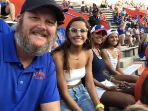 Clayton attended University of Florida Gators Football vs. University of Tennessee-martin - NCAA Football on Sep 7th 2019 via VetTix