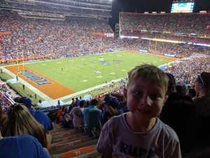 Christopher attended University of Florida Gators Football vs. University of Tennessee-martin - NCAA Football on Sep 7th 2019 via VetTix