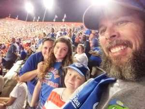 Alexander attended University of Florida Gators Football vs. University of Tennessee-martin - NCAA Football on Sep 7th 2019 via VetTix