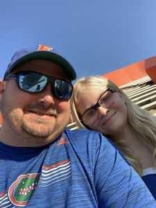 Jason attended University of Florida Gators Football vs. University of Tennessee-martin - NCAA Football on Sep 7th 2019 via VetTix