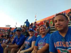 SCOTT attended University of Florida Gators Football vs. University of Tennessee-martin - NCAA Football on Sep 7th 2019 via VetTix