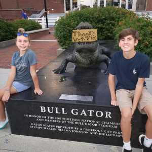 robert attended University of Florida Gators Football vs. University of Tennessee-martin - NCAA Football on Sep 7th 2019 via VetTix