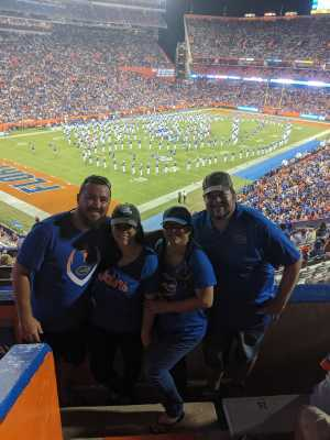 Roger attended University of Florida Gators Football vs. University of Tennessee-martin - NCAA Football on Sep 7th 2019 via VetTix