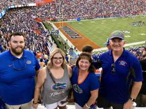 Thomas attended University of Florida Gators Football vs. University of Tennessee-martin - NCAA Football on Sep 7th 2019 via VetTix