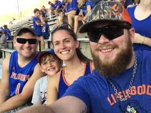 Nathan attended University of Florida Gators Football vs. University of Tennessee-martin - NCAA Football on Sep 7th 2019 via VetTix