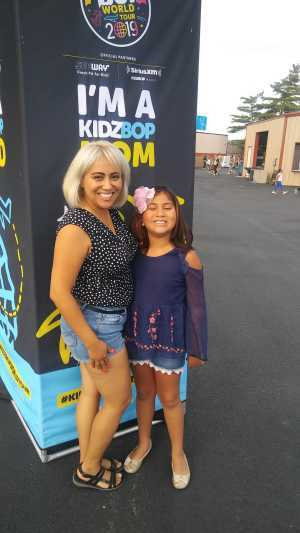cynthia attended Kidz Bop World Tour 2019 - Children's Theatre on Aug 25th 2019 via VetTix