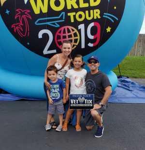 Frank attended Kidz Bop World Tour 2019 - Children's Theatre on Aug 25th 2019 via VetTix