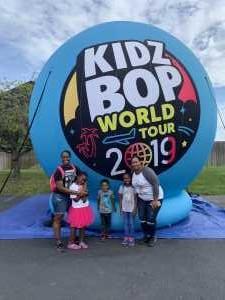Roshaun attended Kidz Bop World Tour 2019 - Children's Theatre on Aug 25th 2019 via VetTix