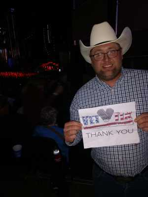 William attended Dierks Bentley: Burning Man 2019 - Country on Aug 23rd 2019 via VetTix