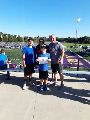 MICHAEL attended University of Albany Great Danes vs. Lafayette Leopards - NCAA Football - Military Appreciation Game on Sep 21st 2019 via VetTix