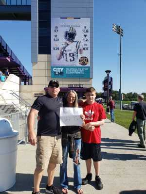 Jeff  attended University of Albany Great Danes vs. Lafayette Leopards - NCAA Football - Military Appreciation Game on Sep 21st 2019 via VetTix