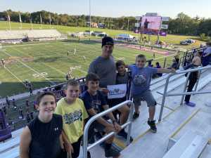 Alfred attended University of Albany Great Danes vs. Lafayette Leopards - NCAA Football - Military Appreciation Game on Sep 21st 2019 via VetTix