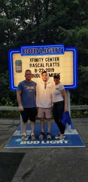 Matthew attended Rascal Flatts: Summer Playlist Tour 2019 - Country on Aug 22nd 2019 via VetTix