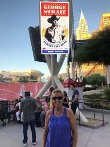 Arin attended George Strait - Strait to Vegas on Aug 23rd 2019 via VetTix