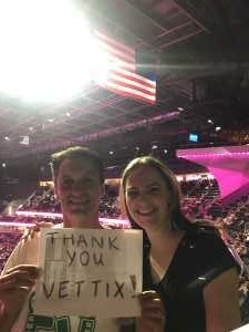 Eric attended George Strait - Strait to Vegas on Aug 23rd 2019 via VetTix